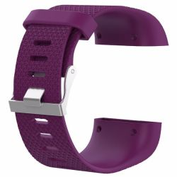 Killerdeals Men's Silicone Strap For Fitbit Surge - Purple