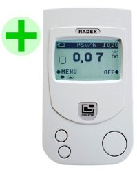 Radex RD1503+ W o Dosimeter: High Accuracy Geiger Counter Radiation Detector English