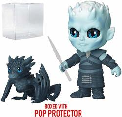 Game Of Thrones Funko Night King Funko 5 Star Action Figure Includes Compatible Pop Box Protector Case