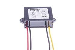 Step UP to 24V//3A 24V 1A 72W Power Supply Module 10~20V SMAKN Waterproof DC//DC Converter 12v