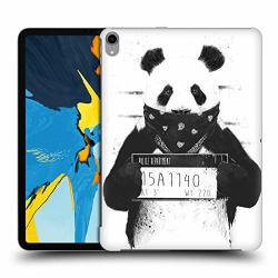 Official Bal Zs Solti Bad Panda Animals Hard Back Case Compatible For Ipad Pro 11 2018