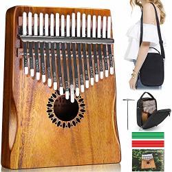 Kalimba Thumb Piano 17 Keys Portable Mbira Finger Piano Gifts For Kids And Adults Beginners