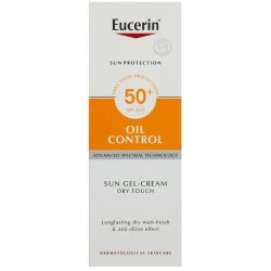 Eucerin Sun Gel-creme Oil Control Dry Touch Spf 50+ 50ML