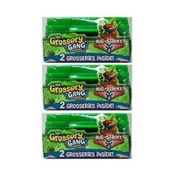 Moose Toys The Grossery Gang Bug Strike Army Crate 2-PACK Bundle Of 3