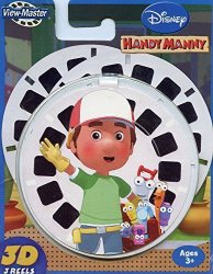 View-Master Handy Manny - Classic Viewmaster - 3D Reel Set On Card