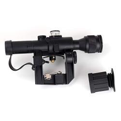 Winfree 4X24 PSO-1 Type For Dragonov Svd Sniper Ak Series