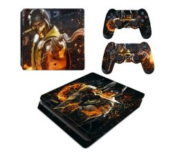 Decal Skin For PS4: Scorpion Fire