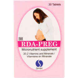 Smart Rda-preg Micronutrient Supplement 30 Tablets