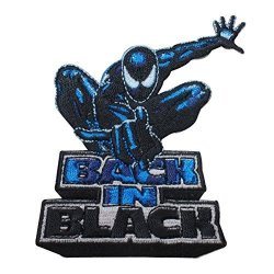 C&D Visionary Inc. Application Spiderman Back In Black Patch