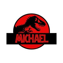 Decal The Walls Jurassic Park Wall Decal Sticker Personalized Vinyl Wall Decal Dinosaur Theme Decor