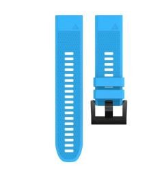 Replacement Silicone Band For Fenix 5X & Fenix 3 - Light Blue 26MM