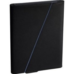 Targus Leather Z-case For Apple Ipad 16GB 32GB 64GB Wifi And Wifi + 3G Ipad 2 THZ021US Blue black Interior