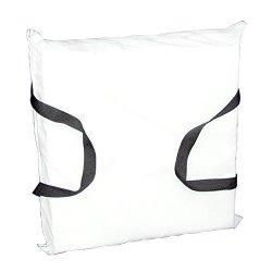 Absolute Outdoor, Inc. Onyx Cushion-throw White Cloth