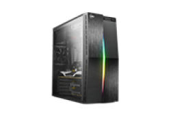 KWG Vela M2 Gaming Atx Case Case Type Mid Tower Motherboard Support Atx Micro-atx Color Black Expansion Slots 7 Material Spcc & Abs &