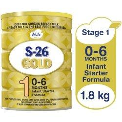 S-26 Gold Newborn Infant Starter Formula 1.8KG