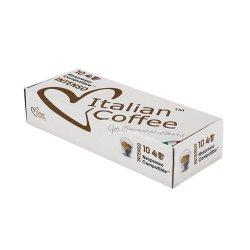 Nespresso Italian Coffee Intenso Compatible Coffee Capsules - 50