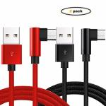 USB Type C Cable Apoi 2-PACK USB C To USB A Charger Nylon Braided Fast Charging Cord Compatible Samsung Plus Note 8 Moto Z2