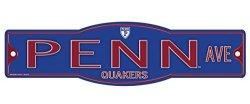 "NCAA Penn Quakers University Of Pennsylvania Quakers 4"" X 17"" Street Sign"
