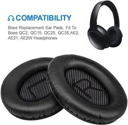 USA Bose Quiet Comfort 35 Replacemen Ear Cushions Kit By Link Dream Soft Protein Leather Replacement Ear Pad For Bose Qc 35 25