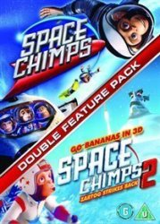 Space Chimps 1 And 2 Dvd