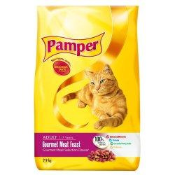 Pampers Dry Cat Food Gourmet Gourmet 3 Kg