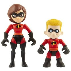The Incredibles 2 2-3-INCH Precool Mrs. Incredible & Dash 2-PACK Action Figures