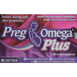 PregOmega Plus 30 Day Pack