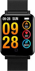 Fitness Tracker Heart Rate Monitor Blood Pressure Heart Rate Monitor Blood Pressure Sleep Tracker Step Calorie Counter Pedometer Activity Tracker Smart Watches For