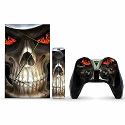 MightySkins Skin For Nvidia Shield Tv Pro - Evil Reaper Protective Durable And Unique Vinyl Decal Wrap Cover Easy To Apply Remov