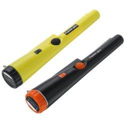 Metal Detector Pinpointing Digger Garden Detecting Waterproof Black Yellow