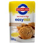 Snowflake - Easymix Muffin Mix Cappuccino Packet 500G