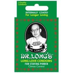 Dr Long's Condoms 3 Pack