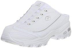 Skechers Sport Women's Bright Sky Fashion Sneaker White silver 9 M Us