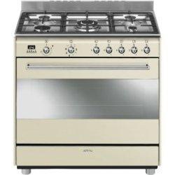 Smeg Gas electric 90CM Cooker SSA91MAP9 + 28CM Frying Pan