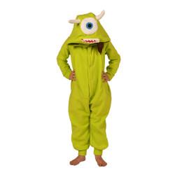 a92859de9939 AFreaka Green Monster Onesie Green   Kids Inspired By Mike Wazowski ...