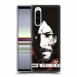 Official Amc The Walking Dead Blood Bath Daryl Gore Soft Gel Case Compatible For Sony Xperia 5