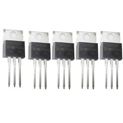 Jekewin Mosfet IRF630 TO-220 200V 9.3A N Channel Power Mosfet Pack Of 5