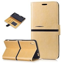 brand new 98b53 e4ef1 Ikasus Sony Xperia Xa Ultra Case Sony Xperia Xa Ultra Cover Pu Leather Fold  Wallet Pouch Case Wallet Flip Cover Bookstyle Card S | R680.00 | Dolls | ...