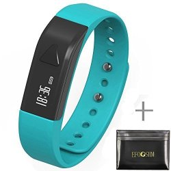 EFOSHM Health Wireless Activity Sleep Monitor Pedometer Smart Fitness Tracker Wristband Watch Bracel