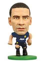 Creative Toys Company Rio Ferdinand Manchester United Away Kit Soccerstarz Figure