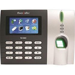 Fingertec Premier Color Multimedia Fingerprint Time Attendance System TA100C New Algorithm Improves Speed And Accuracy
