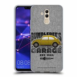 Official Transformers: Bumblebee Movie Garage Beetle Graphics Soft Gel Case Compatible For Huawei Mate 20 Lite