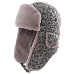4ded04856 Trapper Hat Aviator Earflap Hat Faux Fur Warm Winter Hat For Women Pilot  Soviet Russian Ushanka Grey Gray Siggi | R875.00 | Sunglasses | PriceCheck  SA