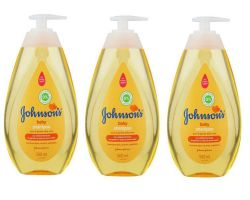 Johnson's - Baby Shampoo 3 X 500ML