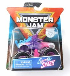 Mj Sparkle Smash With Figure And Poster 2019 Monster Jam Danger Divas Series 1 64 Scale