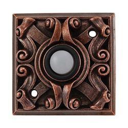 Vicenza Designs D4008 Italian Style Doorbell Antique Copper