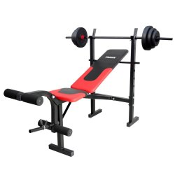Trojan - Strength Bench And Weight Combo Set