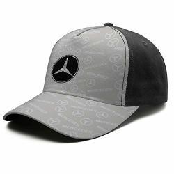 Men womens Mercedes-benz-gray-camouflage- Baseball Cap Sport Snapback Caps Vintage Sports Black