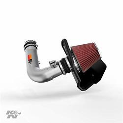 K&N Cold Air Intake Kit: High Performance Guaranteed To Increase Horsepower: 2011-2019 Ford Explorer 3.5L V6 77-2575KS