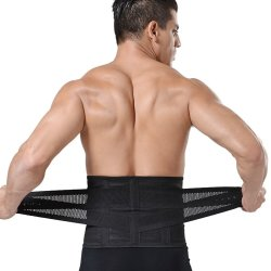 Unisex Velcro Waist Trainer - Black One Size